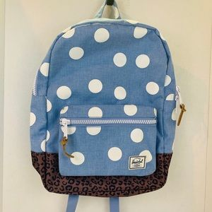 Herschel Leopard & Polka Dot Print Casual Backpack